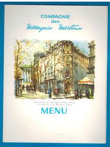 1968-menu à Bord 1ère Classe -compagnie Des Messageries Maritimes -j.laborde Nfg81izn-07222401-793932394