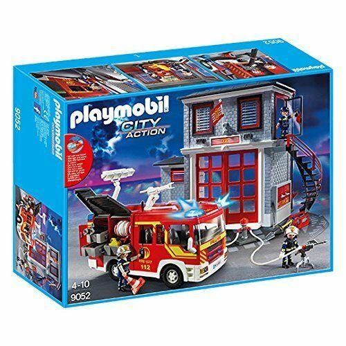 Playmobil 9052 City Action Feuerwehr Mega Set NEU OVP