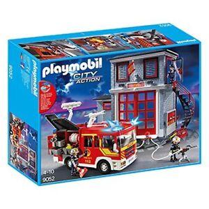 Playmobil-9052-City-Action-Feuerwehr-Mega-Set-NEU-OVP