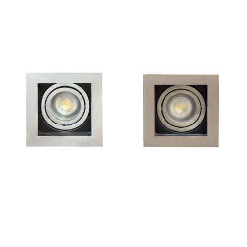 Premium Square GU10 plafond Spotlight GU10 Tilt Directional Downlight spots