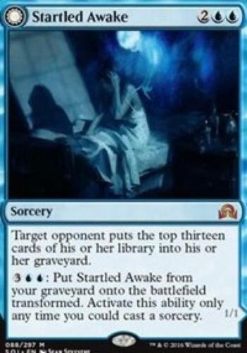 Startled Awake Near Mint Normal English Card MTG TCG Persistent Nightmare
