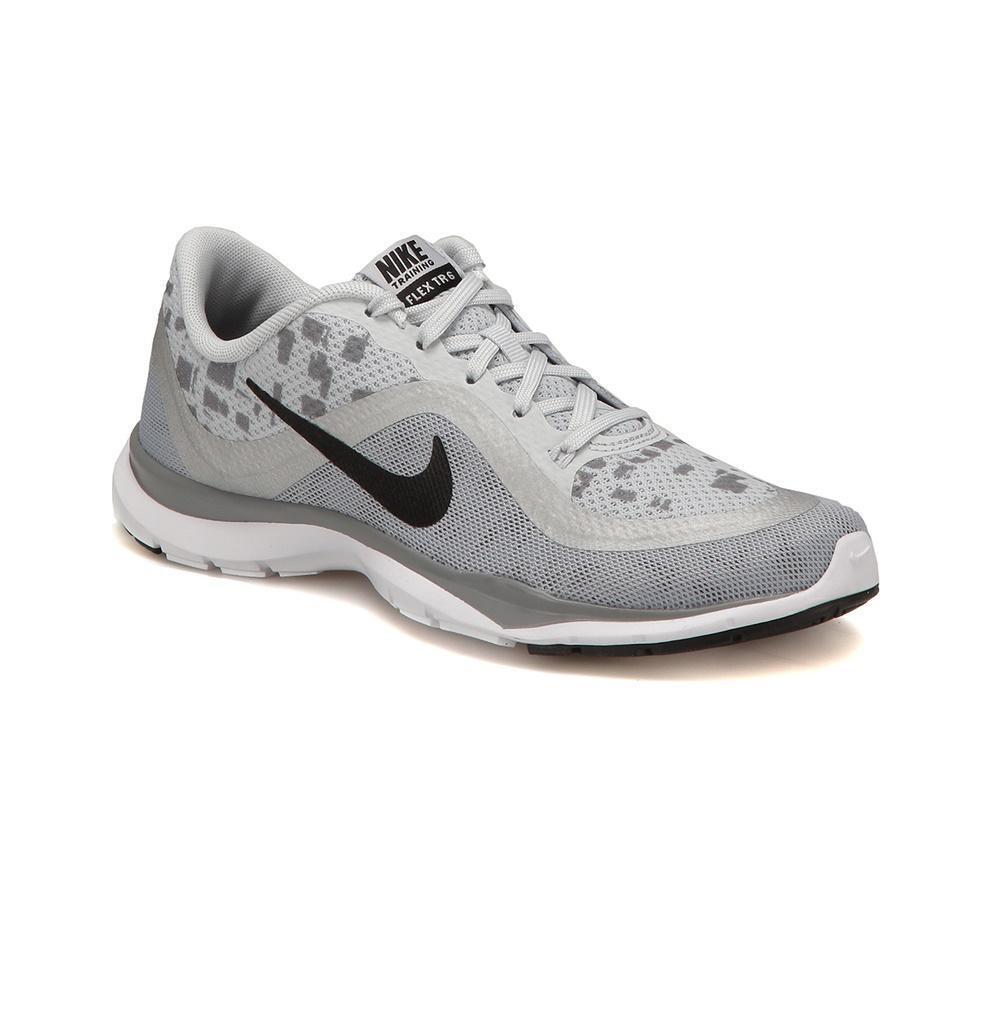 Da Donna Nike Flex Trainer 6 Grigio Stampa Scarpe Da Da Da Ginnastica Running 831578 003 5127f4