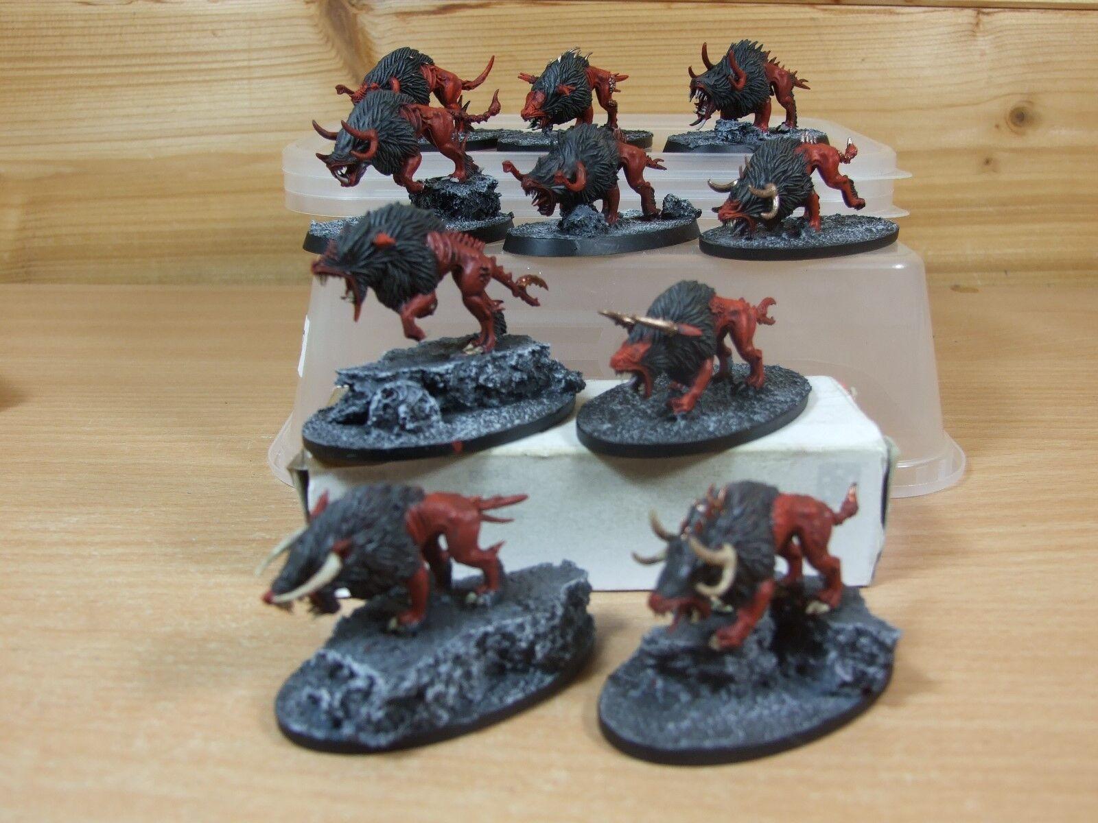 10 - warhammer chaos khorne hunde gut gemalt (926)