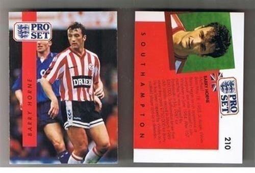 PROSet Pro Conjunto de 1990-91 Tarjetas de jugador de fútbol diversas W a los equipos o