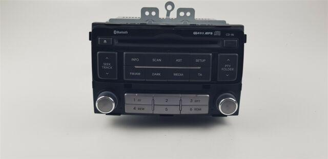 T1074 Hyundai Radio CD 96121-1J252BLH