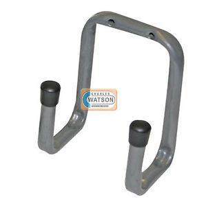 70mm double storage hook ladder bike garage shed wall for Garden shed hooks