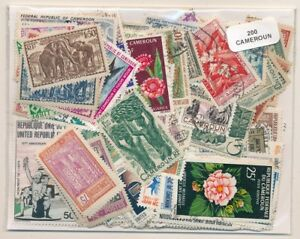 Details about Cameroon US 200 Stamps Different