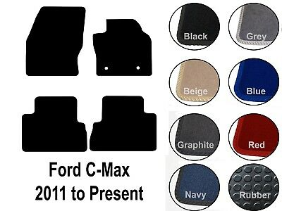 Tailored Car Floor Mats Set Fits Ford C Max 2011 Date