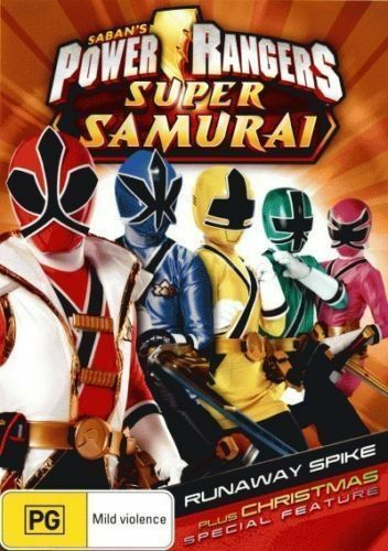 1 of 1 - Power Rangers - Super Samurai Runaway Spike + Christmas Special (DVD, 2012)