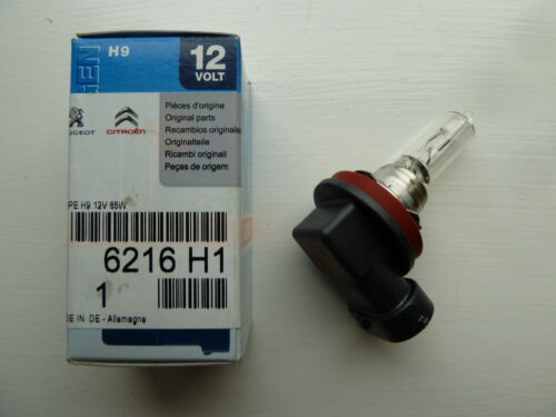 Genuine Peugeot 3008 Headlamp Headlight Bulb  H9 65W 6216H1
