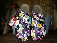 Drexlite Womens Flower Design Slippers Size 9 Womens Casual Summer Shoes Dress