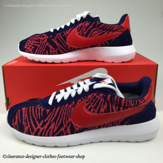 WMNS Nike Roshe Ld 1000 KJCRD Cortez Red Navy Womens Running Shoes 819845 400 UK 5.5