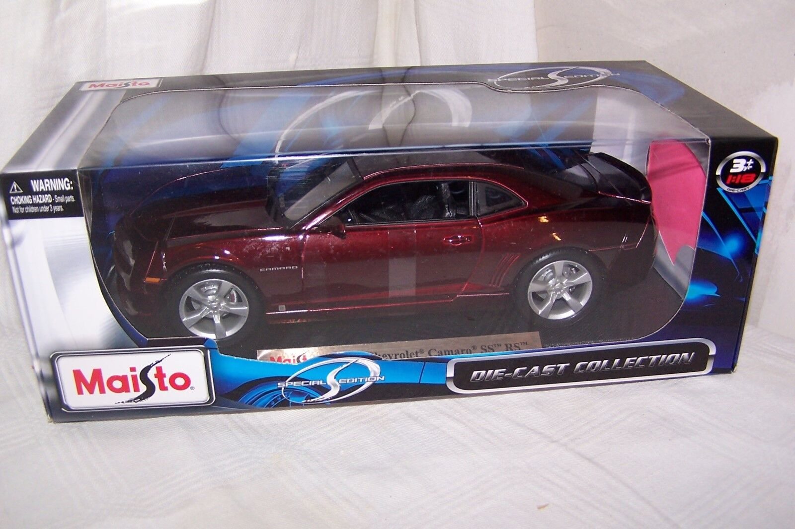 Diecast 1 18 2010 Chevrolet Camaro SS RS