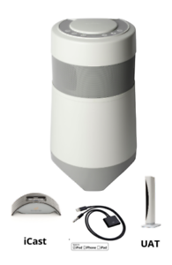 Soundcast OutCast Jr Portable Outdoor Speaker - 4-Spkrs, Sub, TriAmp w 2 trans