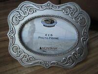 Western Decor 4 X 6 Belt Bucklesilver 77086 Montana Silversmiths Photo Frame
