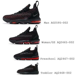 3ddf2e28d4 Nike Lebron XVI EP LBJ 16 James Fresh Bred Basketball Shoes LA ...
