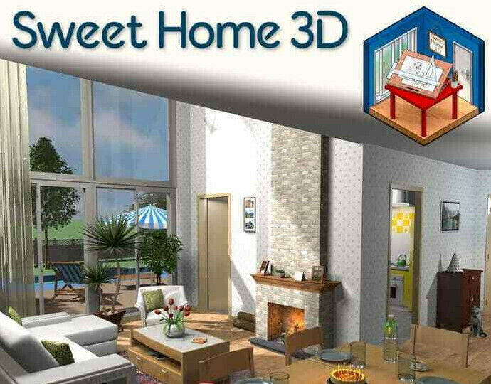 Sweet Home 3d Interior Design Planning Modelling Software Download Ebay