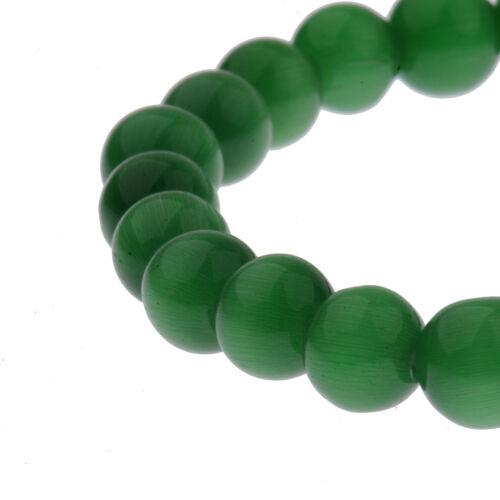 8mm Handmade Mixed Natural Gemstone Round Beads Stretchy Healing Reiki Bracelets