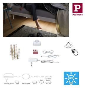 Paulmann LED Bettlicht KomplettSet Bewegungssensor Nachtlicht Bett Sensor Stripe