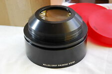 Melles Griot P/N: 38350 Scan Lens ? 148mm (Front Clear View) Black