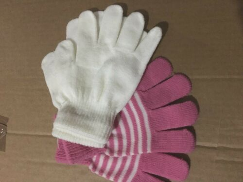 2 Pack Girls Gloves Accessories  size 1