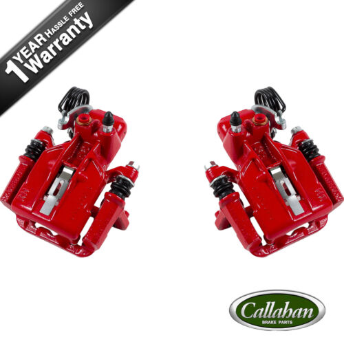 Rear Red Brake Calipers For 1994 1995 1996 1997-2004 Ford Mustang SN95