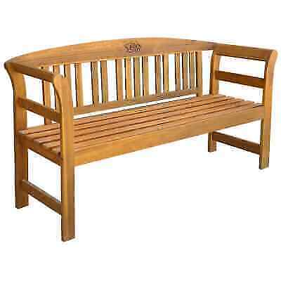 Phenomenal Vidaxl Solid Wood Garden Bench 61 8 3 Seater Patio Outdoor Chair Seating For Sale Online Ebay Gmtry Best Dining Table And Chair Ideas Images Gmtryco