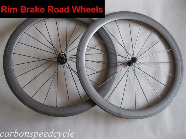23mm Width 50mm Clincher carbon road racing wheelset