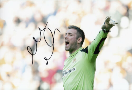 Hull City Hand Signed Allan McGregor 12x8 Photo 1.