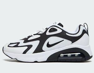 air max 200 blanco y negro