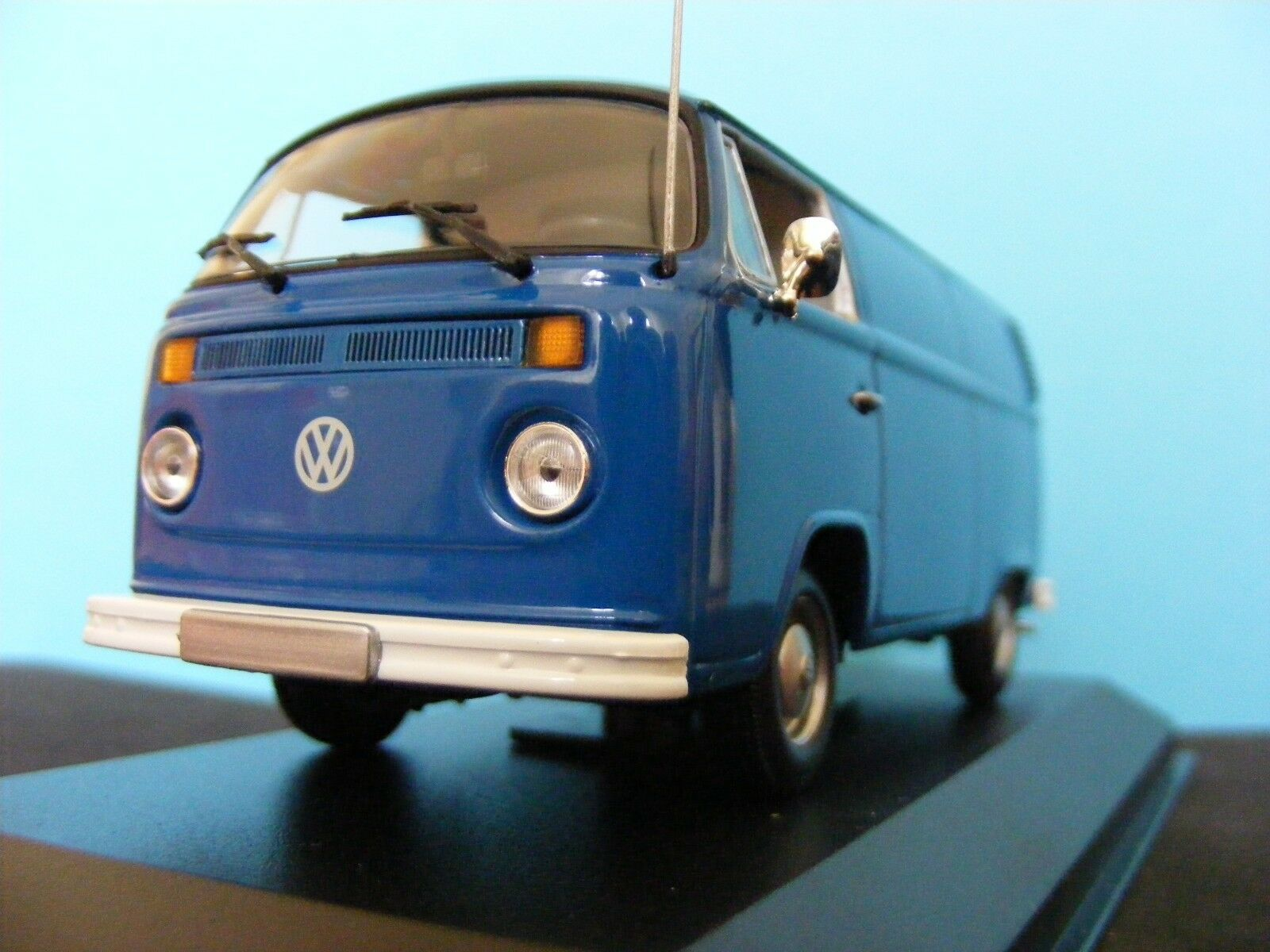 VW  Type 2 b Delivery Van in bluee   a Maxichamp New issue 1 43RD. .