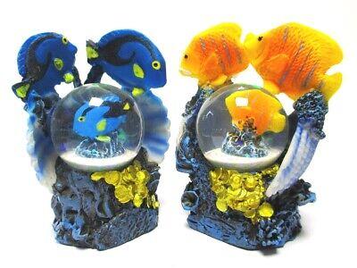 Sonstige Modestil Korallenfisch Schneekugel Glitzerkugel,anemonenfisch Drückerfisch Aquarium Hohe Sicherheit
