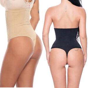 396c1b4f5d3fe Strapless High Waist Slim Body Shaper Pants Tummy Control Underwear ...