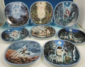 8-VISIONS-OF-THE-SACRED-Bradford-Exchange-Native-American-Collector-039-s-Plates