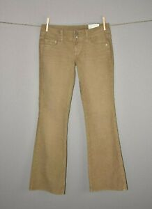 AMERICAN-EAGLE-NEW-59-Artist-Green-Boot-Cut-Corduroy-Pant-Size-4