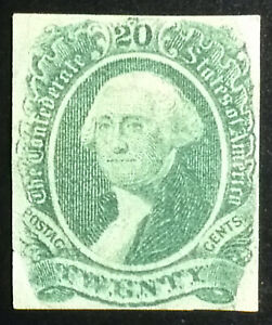 Confederate States Scott # 13, unused, F