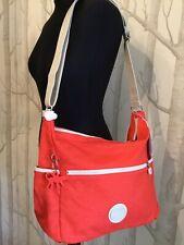 c3b153677eef Kipling Basic Alvar BPC Shoulder Bag 33 Cm Dots Coral Rose K14847 ...