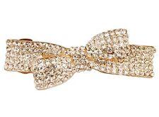 ConMIGo London CL41 bow hair clip with sparkling sequins