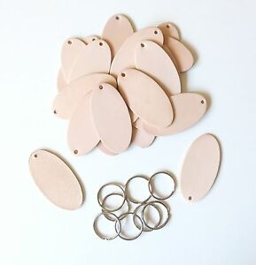 Gut Ausgebildete Schlüsselanhänger Mit Schlüsselring Naturleder Blankleder Bastel Leder Punzieren Sonstige Bastel- & Künstlerbedarf