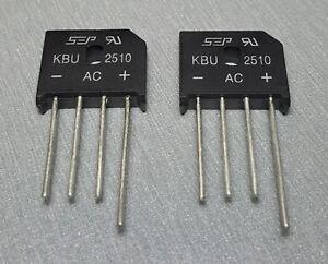 2xS KBU1010 10A 1000V Single Phases Diode Bridge Rectifier SEAU