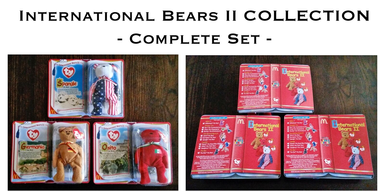 McDonald's Beanie Babies Collection Collection Collection