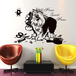 Image Is Loading Dog Wall Decals Home Swit Home Quote Decal