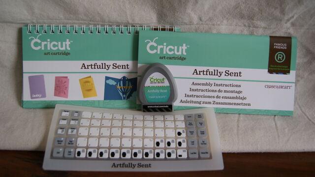 Cricut Cartridge Artfully Sent CTMH