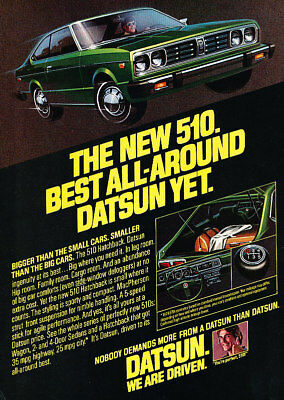 1978 Datsun King Cab Truck Classic Vintage Advertisement Ad H23