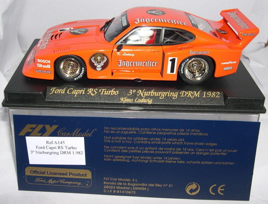 FLY A145 FORD CAPRI RS TURBO º NURBURGRING DRM 1982 KLAUS LUDWIG MB