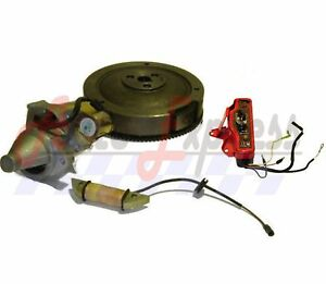 s l300 new honda gx160 5 5hp electric start kit starter motor flywheel on