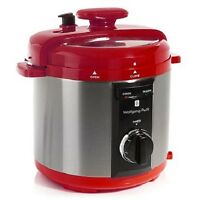 Wolfgang Puck Automatic 8 Quart Rapid Pressure Cooker Factory Refurbished