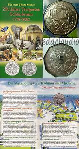 AUSTRIA-OSTERREICH-5-EURO-2002-250-ANNI-ZOO-SCHONBRUNN-FDC-ARGENTO-SILVER