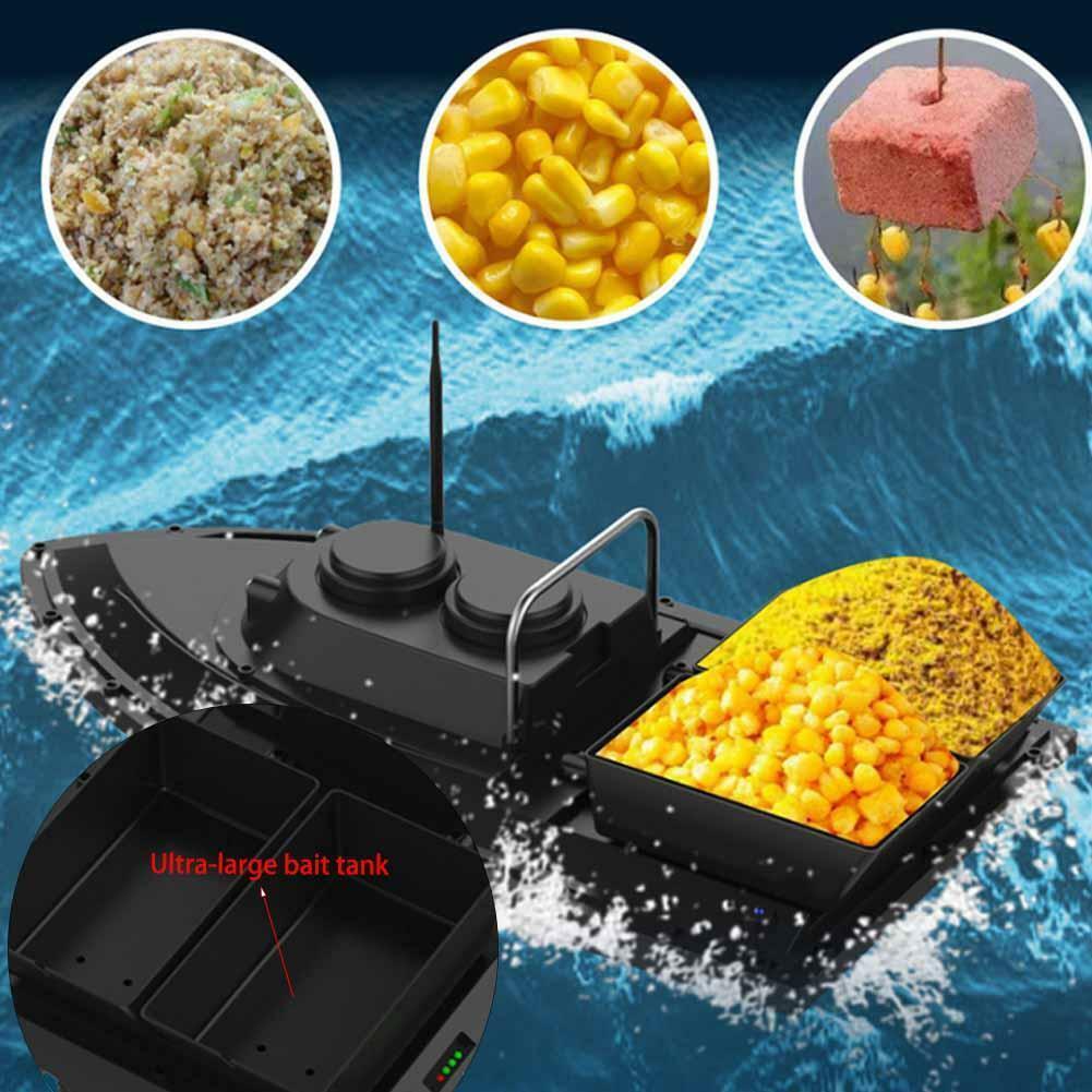 500m Smart Remote Control Wireless Fishing Bait Boat Fish Finder Speedboat Ship