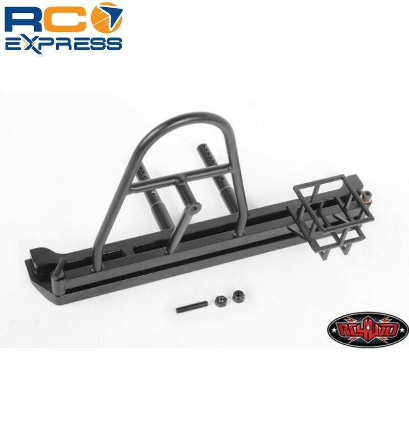 RC 4WD Tough Armor Swing Away Tire Carrier W/Fuel Holder Scx10 Ii RC4Z-X0051